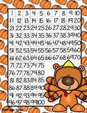 Giggly Games Teddy the Turkey 100 Chart Folowing Direction