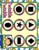 Giggly Games Twinkle Twinkle Shapes Matching Mat