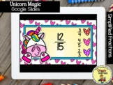Giggly Games Unicorn Magic Simplified Fractions GOOGLE SLI