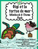 Gigi et la tortue de mer Minibook & Activity Pack in FRENC