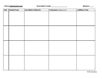 Gigi's Classroom Forms & Worksheets Complete BUNDLE