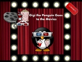 Gigi the Penguin Goes to the Movies: 1st Grade Dolch Sight Words