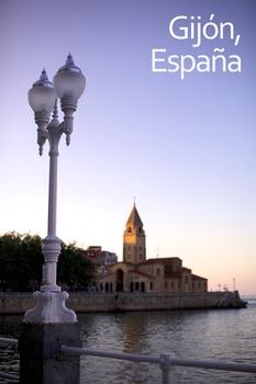 Gijón, Spain Poster: Digital Download