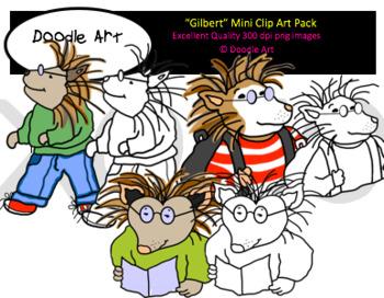 Gilbert Mini Clipart Pack