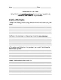 Gilbert and the Lost Tooth Comprehension Packet
