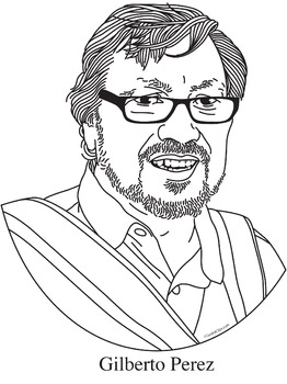 Gilberto Perez Realistic Clip Art, Coloring Page,  and Poster