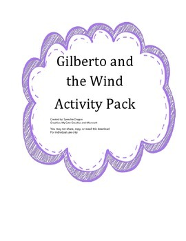 Gilberto and the Wind Activity Pack