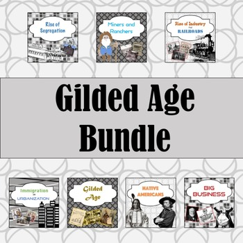 Gilded Age PowerPoint Bundle