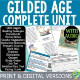 Gilded Age Curriculum; Distance Learning; Digital Learning
