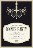 Gilded Age Dinner Party