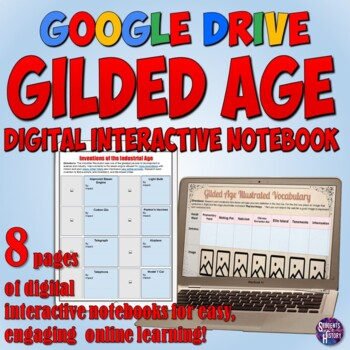 Gilded Age Google Drive Interactive Notebook