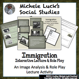 Gilded Age Immigration Activity with Role Cards and New Immigrants