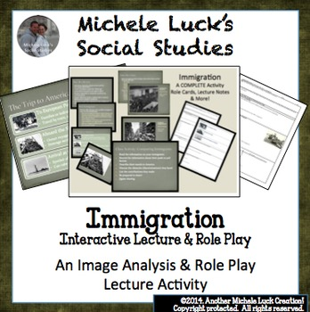 immigration activity These resources, compiled by the education teams across the smithsonian institution, feature lessons, activities, exhibitions, videos and tools that can be used.