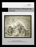 Gilded Age Political  Problems and Progress Lesson Plan an