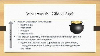 Gilded Age PowerPoint - US History