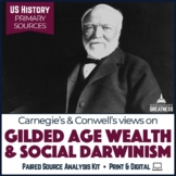 Gilded Age Carnegie Paired Primary Source & Extended Writing