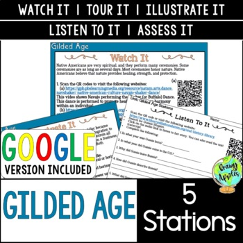 Gilded Age Station Activities, Late 19th Century Stations