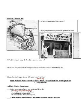 Gilded Age Test