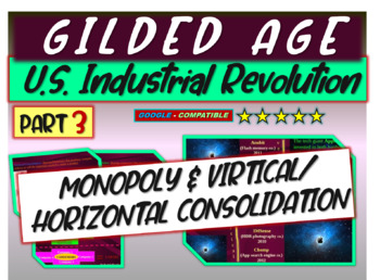 Gilded Age (U.S. Industrial Revolution) PART 3 of epic 176