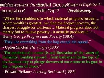 Gilded Age (U.S. Industrial Revolution) PART 6 of epic 176-slide PPT