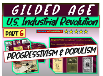 Gilded Age (U.S. Industrial Revolution) PART 6 of epic 176