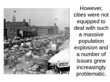 Gilded Age Urbanization and Immigration