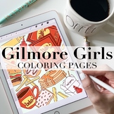 Gilmore Girls Inspired Coloring Pages by Taracotta Sunrise