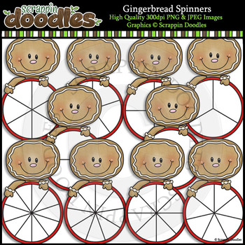 Gingerbread Spinners