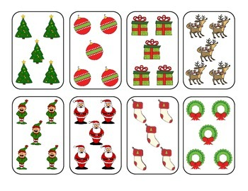 Gimme Five!  Christmas Edition - A Math Card Game FREEBIE