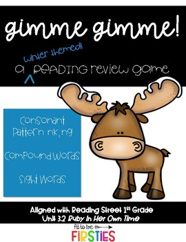 Gimme Gimme! Reading Review Game, Scott Foresman 1st Grade