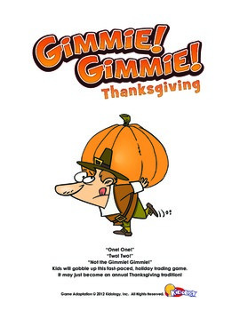 Gimmie! Gimmie! Thanksgiving Game Sample