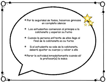 Gimnasia ~ Gymnastics Posters & Cards in Spanish
