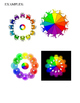 Gimp color wheel project