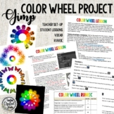 Gimp color wheel project