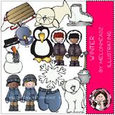 Winter clip art - Melonheadz clipart