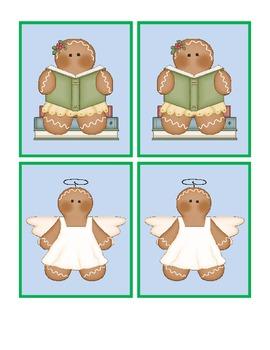 Ginger Folks Christmas Memory Game