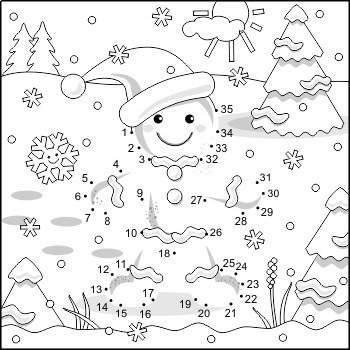 30+ Ginger Bread Coloring Page