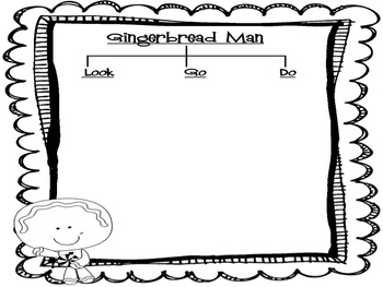 Ginger Man Writing Prompt and Organizer