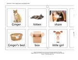 Ginger (the Cat) Vocabulary/Choice Board for Tech Talk