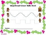 GingerBread Scissor Skills FREEBIE
