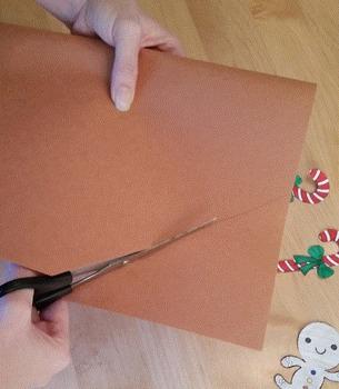 Gingerbread House Activities! preschool, kindergarten, first grade craft