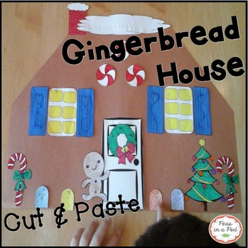 Gingerbread House Activities Preschool Kindergarten 1st Grade