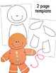Gingerbread Man Craft and Writing Activities