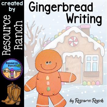 Gingerbread Man Writing Activities