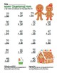 Gingerbread 2 Digit Subtraction & Addition Regrouping Common Core (color& black)