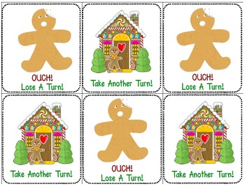 Fry Sight Word Game: Gingerbread Man: