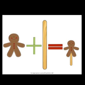 Christmas Craftivities (Gingerbread Crafts)