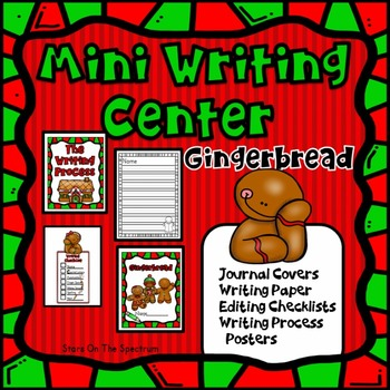 Gingerbread Man Activities - Writing