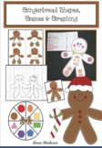 Gingerbread 2D Shapes: Games & Graphing