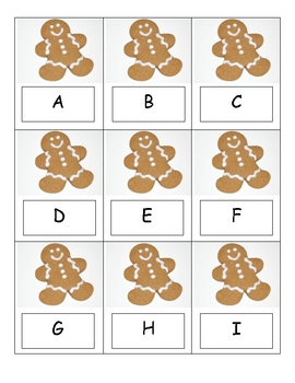 Gingerbread ABC